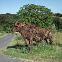 Скульптура быка :: Natalia Harries