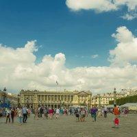 Площадь Согласия в Париже :: leo yagonen
