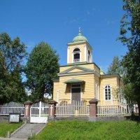 Церковь Святого Захара и Елизаветы в Савонлинна «Pikkukirkko» :: ♛ Г.Король