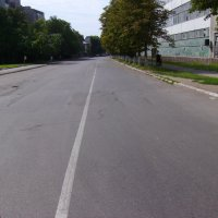 Улица  Академика  Сахарова  в  Ивано - Франковске :: Андрей  Васильевич Коляскин