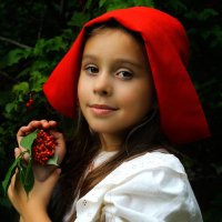 Красная шапочка :: Татьяна Ермакова