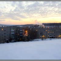 30 утро января 2015, Город 2 :: Алексей Медведев