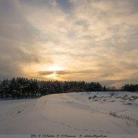 Февральские закаты 1 :: Сергей Никитин