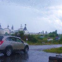Дождь в Ферапонтове :: Svetlana27