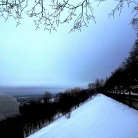 Нижегородский Откос в декабре :: Mary Коллар