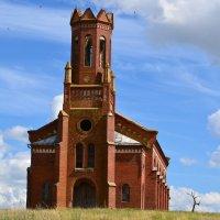 Лютеранская церковь поволжских немцев :: Валерий Лазарев