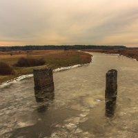 Взорванный мост :: Игорь Вишняков
