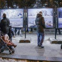 Зимой о зиме. Выставка на Тверском бульваре :: Алексей Окунеев
