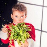 Мальчик с цветком :: Татьяна Китова
