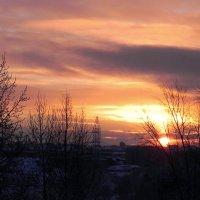 Солнце встает. :: Елизавета Успенская