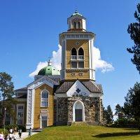 Деревянная церковь. :: Александр Яковлев