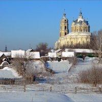 Храм в честь Живоначальной Троицы в Гусе Железном :: Александр Хахалкин