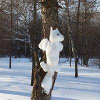 Кто-то белку на дереве слепил.... :: Елена Каталина