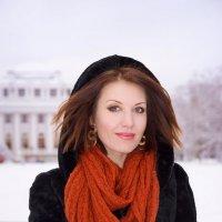 Зимний портрет :: Дмитрий Ромашев