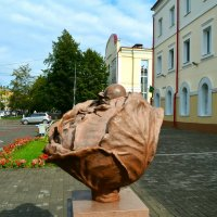 Памятник капусте :: Милешкин Владимир Алексеевич