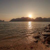 закат на phi-phi (long beach) :: Дамир Белоколенко