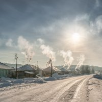 Затопила бабка печь - калачей-блинов испечь.... :: Владимир Чуприков