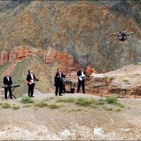 60-летние патриархи  в каньоне Чарын. :: Anna Gornostayeva