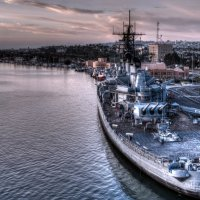 USS Iowa (BB-61) :: Ro Man
