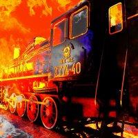 Этот поезд.... :: Ирина Сивовол