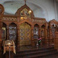 В Спасо-Преображенском храме Ново-Валаамского монастыря :: Елена Павлова (Смолова)