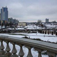 Минск со смотровой площадки  Кафедрального Собора :: Ирина Приходько