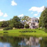 Прекрасное озеро в Царском селе :: Юлия Шабалдина