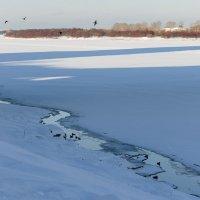 На зимней реке :: Валентин Котляров