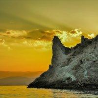 Рыбаки на закате. :: Дмитрий тчк.