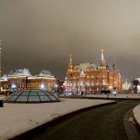 Вечерняя Манежка :: Антон Мазаев