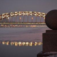 Большеохтинский мост :: Наталья Левина