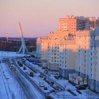 розовое утро :: Сергей