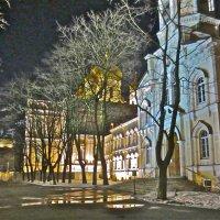 вечером у Новодевичьего в Питере :: Елена