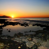 Восход на красном море :: ИГОРЬ ЧЕРКАСОВ