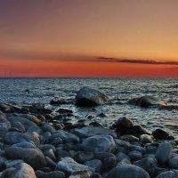 Вечерний занавес моря священного.... :: Александр   Матвей БЕЛЫЙ