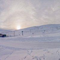 Панорама горнолыжной базы г. Кувандык :: Александр Кислицын