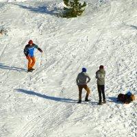 сноуборд по кингисеппски :: Михаил Жуковский