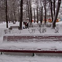 в парке :: Татьяна Осипова(Deni2048)