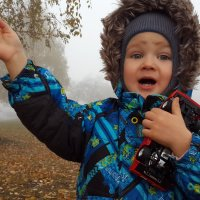 Марколя в тумане :: Магдалина Терещенко