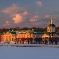 Вечер в Кусково :: Андрей Роговой