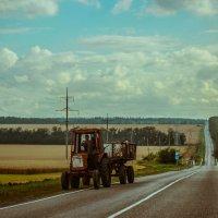 Трактор :: Арина Семенова