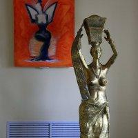 Скульптура  женщины. :: Валерия  Полещикова