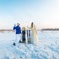 Зимняя свадьба :: Илона Бабашова