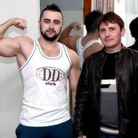 С Тренером в любимом зале ))) :: Дмитрий Фотограф