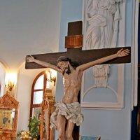 В Знаменской церкви в селе Дубровицы :: Александр Яковлев