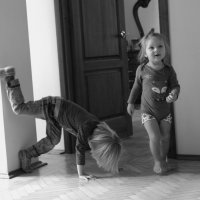 Домашняя тренировка. :: Larisa Gavlovskaya
