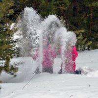 Снежные фонтаны 2 :: Алексей Матвеев