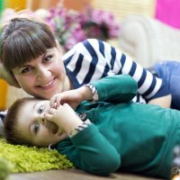 Ирина и сын Роман :: Марина Щуцких
