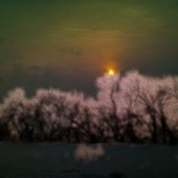 Зимний вечер 2015 :: Анатолий Кузеев