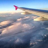 Под крылом самолета... :: Лейла Новикова